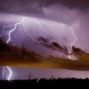 Blitzatlas zeigt Rekordeinschläge in Oberfranken (Foto)