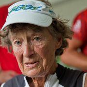 «Iron Nun» Buder bricht Weltrekordversuch ab (Foto)