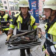 Explosion in Arztpraxis - drei Verletzte (Foto)