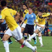 Volleyschuss von Rodríguez zum besten WM-Tor gewählt (Foto)