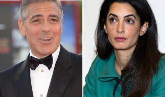 Der ewige Junggeselle kommt unter die Haube: George Clooney wird Amal Alamuddin noch in diesem Sommer heiraten. (Foto)