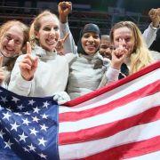 US-Damen gewinnen Säbel-Gold bei WM in Kasan (Foto)