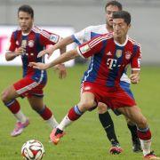 Bayern enttäuschen bei Lewandowski-Debüt (Foto)