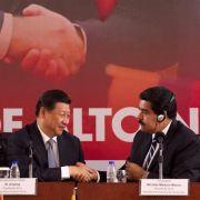 Chinas Charmeoffensive: Xi verteilt Kredite in Lateinamerika (Foto)