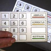 Datenklau an Geldautomaten auf Rekordtief (Foto)