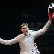 Säbel-Weltmeister Hartung zu Rio: Nicht wehmütig sein (Foto)