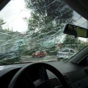 Teilkasko kommt für Hagelschaden am Auto auf (Foto)