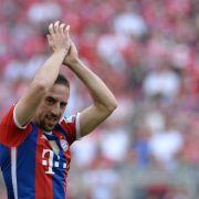 Ribéry absolviert erstes Teamtraining beim FC Bayern (Foto)
