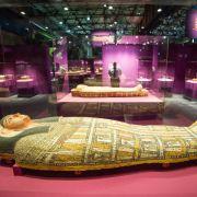 Altes Ägypten - Mumien unter Maschinen in Völklingen (Foto)