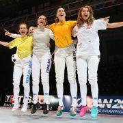 Italiens Florettdamen erneut Mannschafts-Weltmeister (Foto)