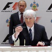 Ecclestone: Keine Absage von Sotschi-Rennen (Foto)