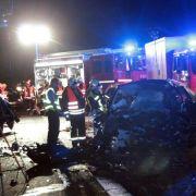 Zwei Tote bei Falschfahrerunfall nahe Potsdam (Foto)