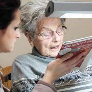 Sehprobleme bei Senioren werden oft verkannt (Foto)