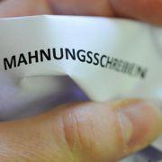 Bei Mahnschreiben aus «Lucerne» ist Vorsicht angebracht (Foto)