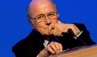 FIFA-Präsident Jioseph Blatter wurde von der Ethikkommission des Verbandes für 90 Tage suspendiert. (Foto)