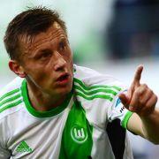 Wolfsburg gewinnt 3:1 in Altach - Klose verletzt (Foto)