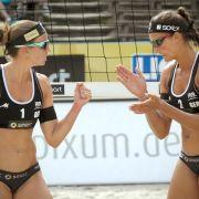 Drei deutsche Damen-Duos in Long Beach noch ungeschlagen (Foto)