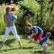 Gut für die Fitness: Kind sollte sich eine Stunde täglich bewegen (Foto)