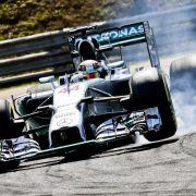 Hamilton auch im Ungarn-Abschlusstraining vor Rosberg (Foto)
