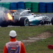 Mercedes: Hamilton muss wohl aus Boxengasse starten (Foto)