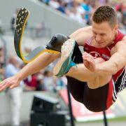 Behinderter Weitspringer Rehm holt sich Meistertitel (Foto)