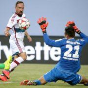 Bayern trifft auf Wolfsburg im Finale des Telekom-Cups (Foto)