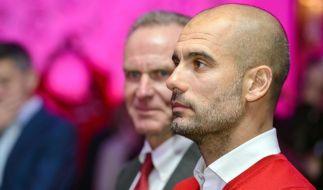 Rummenigge stellt Coach Guardiola Jobgarantie aus (Foto)