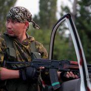 Erneut Gefechte in der Ostukraine (Foto)