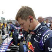 Vettel auch in Ungarn in Ricciardos Schatten (Foto)