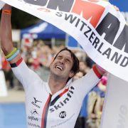 Stein gewinnt Ironman Switzerland - Tajsich Dritte (Foto)