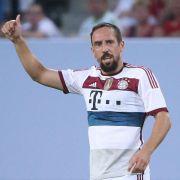 Ribéry mit Lust zurück im Bayern-Trikot (Foto)