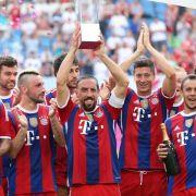 Bayern in Frühform: Sieg über Wolfsburg bei Telekom Cup (Foto)