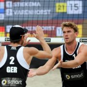 Beach-Duo Walkenhorst/Windscheif Vierte in Long Beach (Foto)