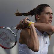 Andrea Petkovic in Stanford in Runde zwei (Foto)