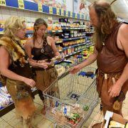 Archäologen proben das Steinzeit-Leben (Foto)