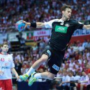 Handballer testen für EM-Qualifikation gegen die Schweiz (Foto)