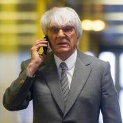 Ecclestone kann auf Ende von Strafprozess hoffen (Foto)