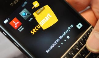 Blackberry kauft «Merkel-Phone»-Entwickler Secusmart (Foto)