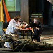 Merkel besucht «Siegfried» in Bayreuth (Foto)