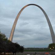 Der Gateway Arch in St. Louis rostet (Foto)