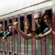 Der «Metal-Train» erreicht mit Verspätung Wacken (Foto)