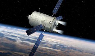 Letzter europäischer Raumtransporter auf dem Weg zur ISS (Foto)