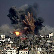 Dutzende Tote bei Gaza-Angriffen (Foto)