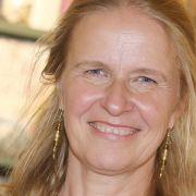 Kinderbuchautorin Cornelia Funke will alles feurig rot (Foto)