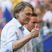 Beiersdorfer stärkt HSV-Trainer Slomka den Rücken (Foto)