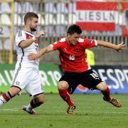 Fünf Stützen der U 19-Nationalmannschaft im Kurzporträt (Foto)