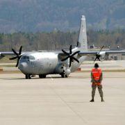 Blinder Passagier in US-Militärmaschine kam wohl aus Mali (Foto)