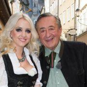 Richard «Mörtel» Lugner: Verlobung als Kostümfest (Foto)