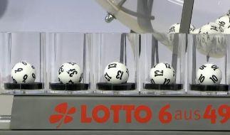 Zum zweiten Mal in der Lotto-Geschichte sind am Mittwoch fünf aufeinanderfolgende Zahlen gezogen worden. (Foto)