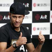 Neymars Rücken bei «fast 100 Prozent» (Foto)